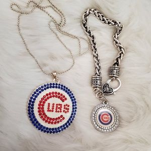 Chicago Cubs Necklace & bracelet